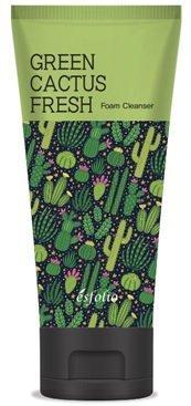 Пінка для вмивання Esfolio Green Cactus Fresh Foam Cleanser з екстрактом зеленого кактуса