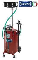 Установка для вакуумного сбора отработанного масла 80 л. Flexbimec 3195, бочка для отбора масла