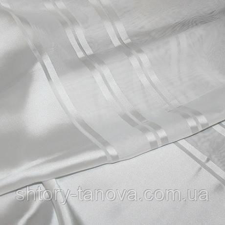 Тюль вуаль полоса лия