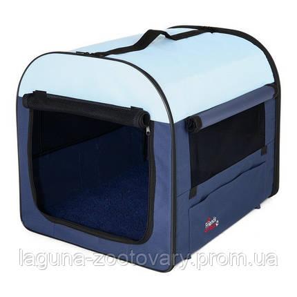 Палатка-переноска 80х55х65см для собак, кошек и др.мелких животных, фото 2