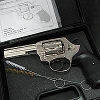 Револьвер флобера ALFA 440 никель/пластик Б/У, фото 1