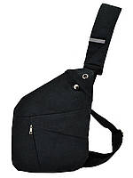 Мужская водонепронецаемая сумка Cross Body Мессенджер антивор на плечо рюкзак слинг Dark-Grey