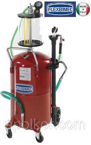 Установка для вакуумного сбора отработанного масла 80 л. Flexbimec 3090 c предкамерой