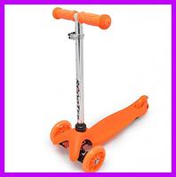 Самокат Scooter  оранжевый, фото 1
