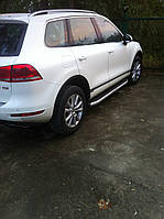 Боковые площадки Volkswagen Touareg (2010+) Fullmond