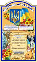 Стенд  Англ. мов Україна 60*100см