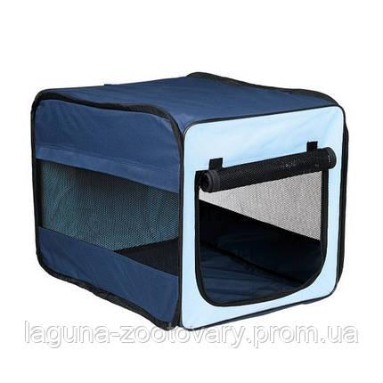 Складной домик - палатка 78х50х35см для кошек, собак  и др.мелких животных, фото 2