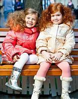 Пуховики, зимові куртки для дівчаток