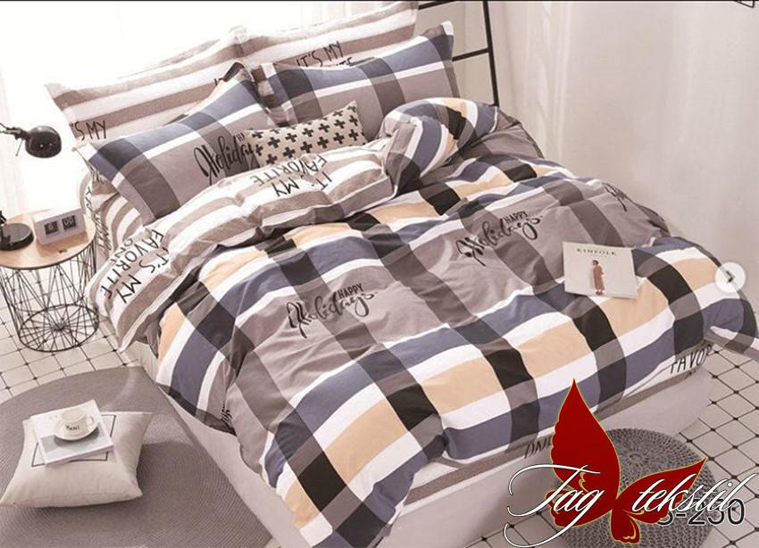 Полуторный комплект постельного белья с компаньоном S250