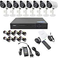 Комплект видеонаблюдения UKC D001-8CH Full HD AHD 3.6 мм