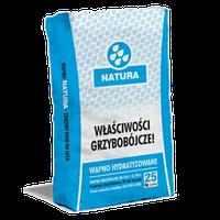 Известь пушонка гашеная «Супер белая» (Польша) 25кг
