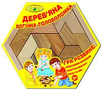 """Настольная игра """"Логическая головоломка. Вып.2"""" (Сота), дерево"""