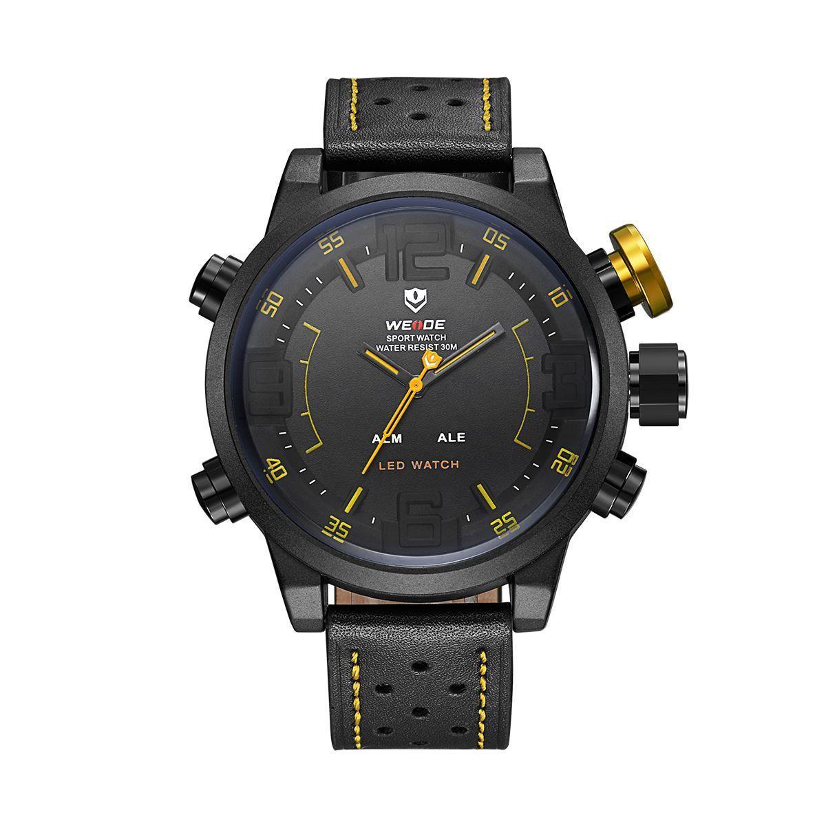 Часы Weide Yellow WH5210B-3C (WH5210B-3C)