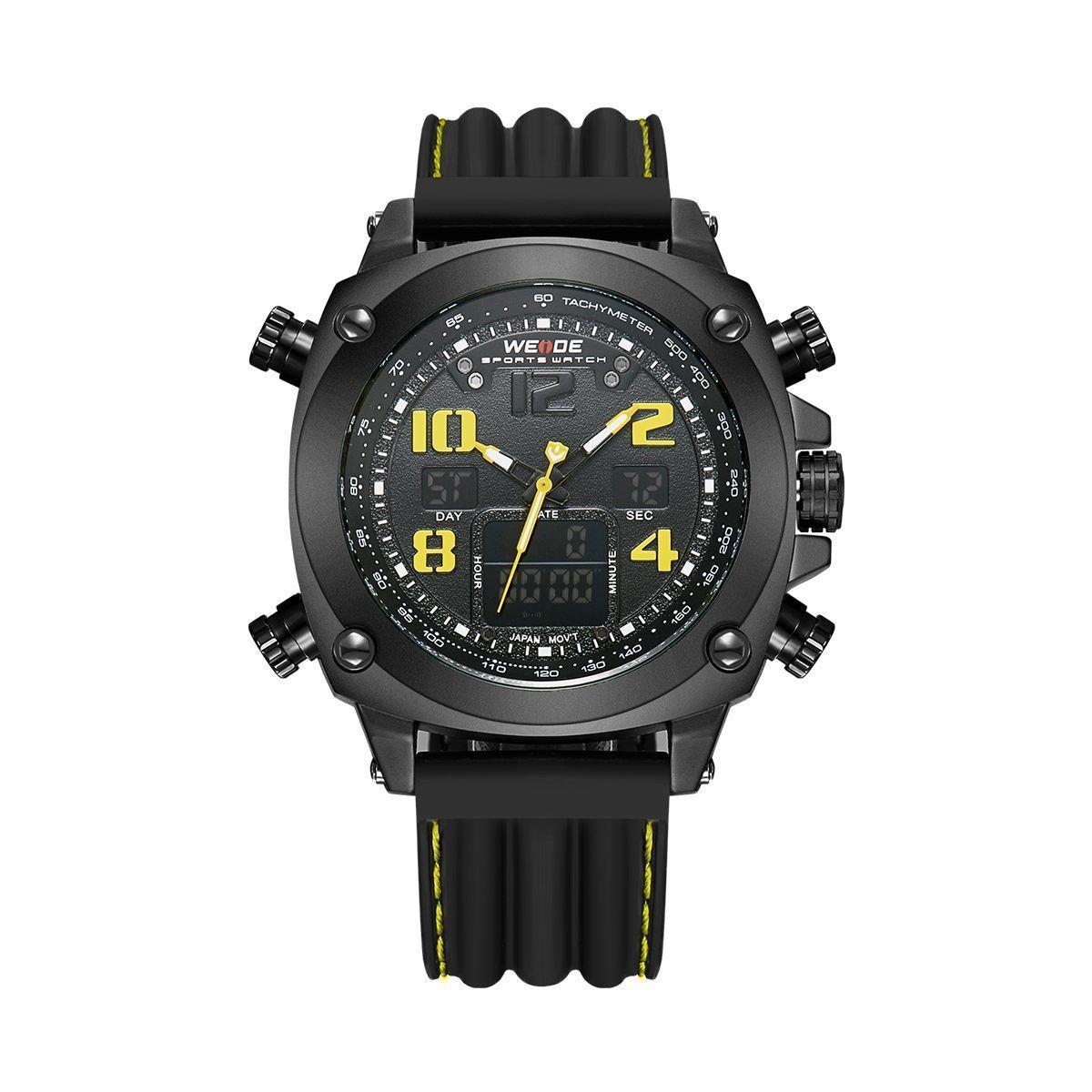 Часы Weide Yellow WH5208B-3C (WH5208B-3C)