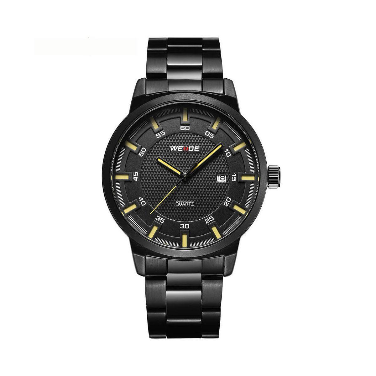 Часы Weide Yellow WD002B-3C SS (WD002B-3C)