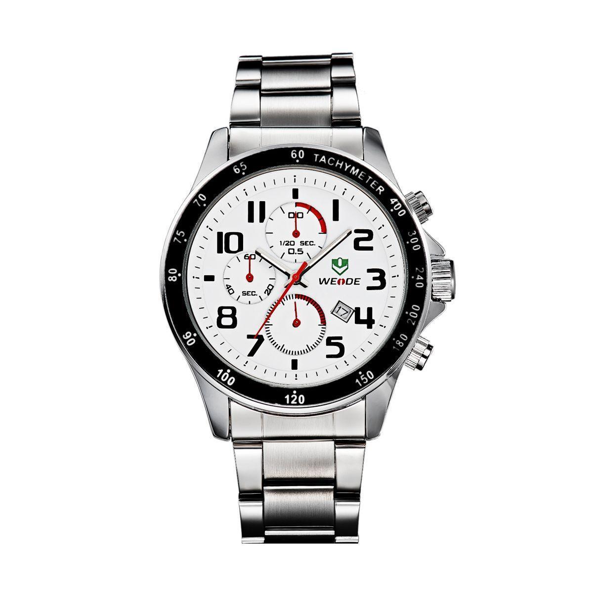 Часы Weide White WH3308-2C SS (WH3308-2C)