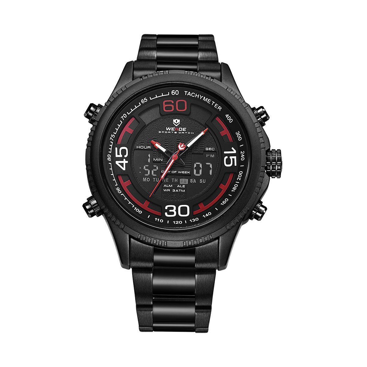Часы Weide Red WH6306B-2C SS (WH6306B-2C)