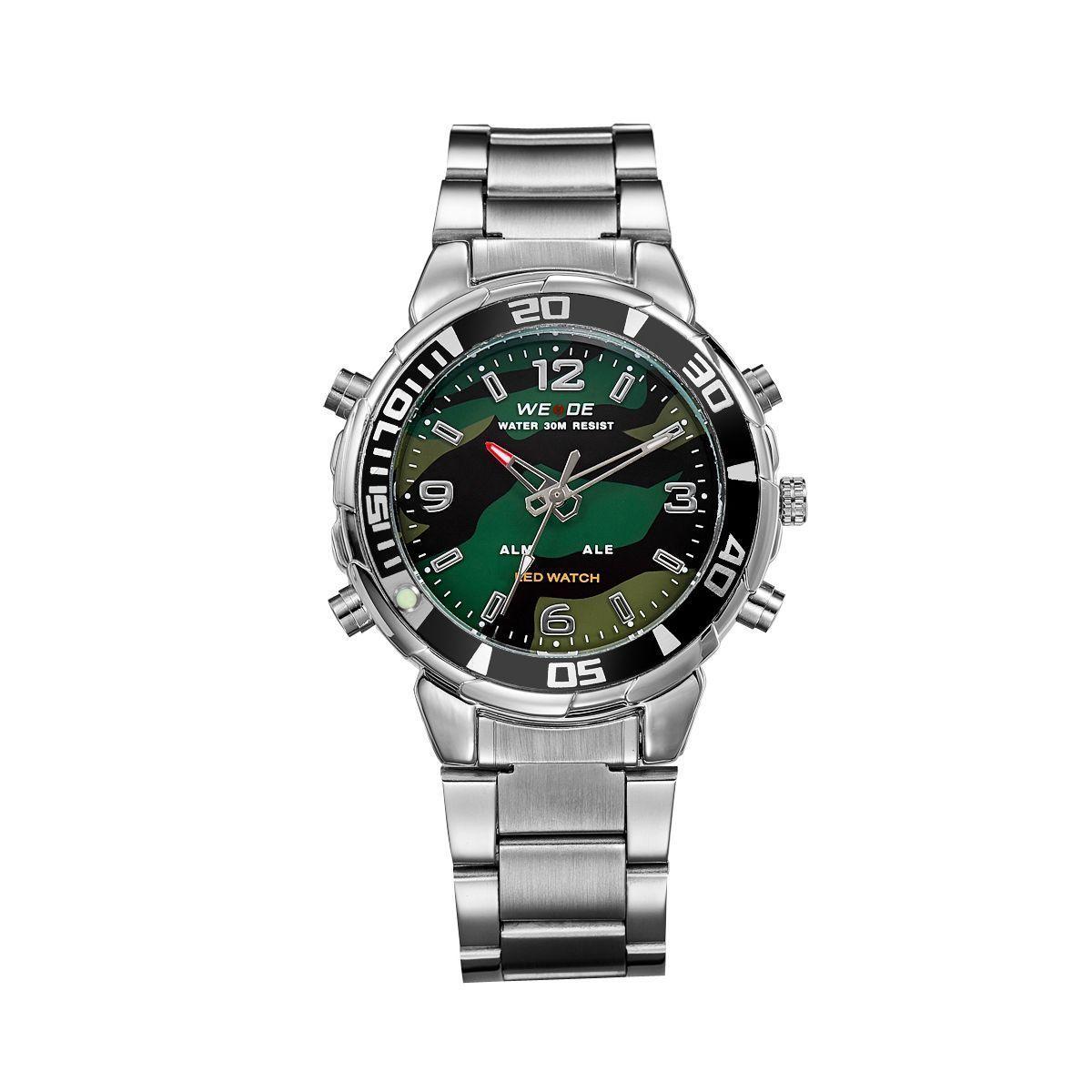 Часы Weide Multicam WH843-4C SS (WH843-4C)
