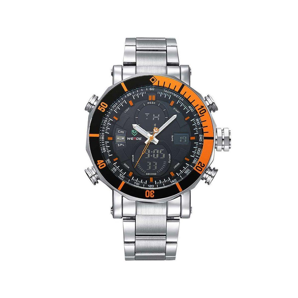 Часы Weide Orange WH5203-5C SS (WH5203-5C)