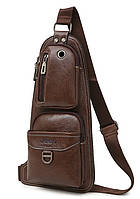 Сумка-рюкзак на ремне через плечо Jeep 1941 Brown