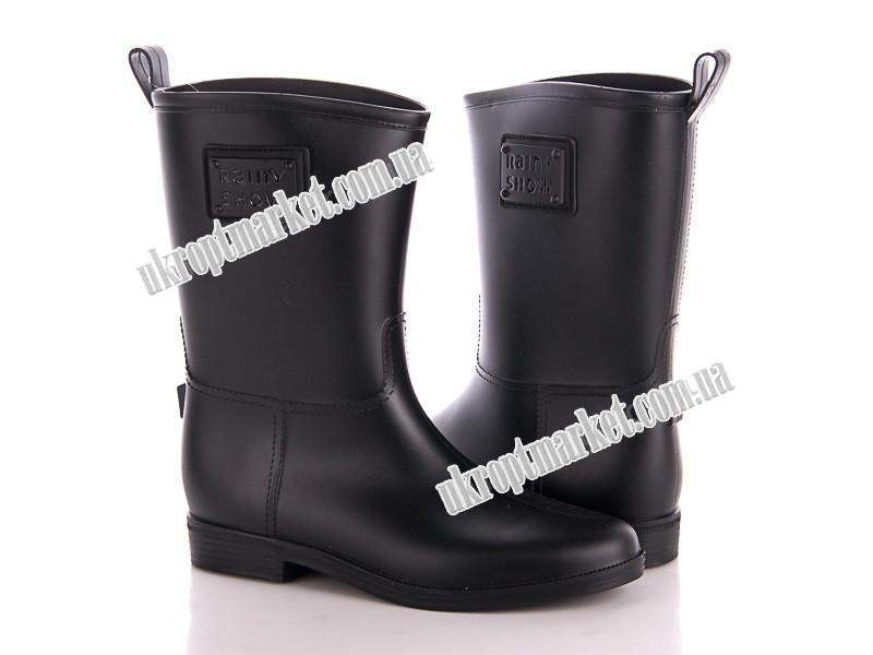 """Сапоги женские Y2X608P черный (6 пар р.36-41) """"Class Shoes"""" 2P/SL-3421"""