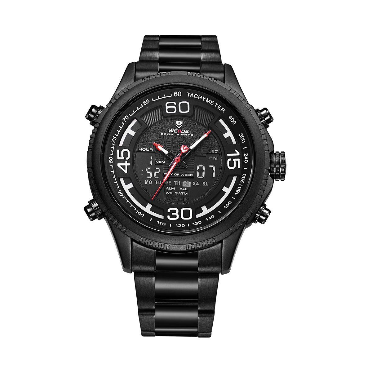 Часы Weide All Black WH6306B-1C SS (WH6306B-1C)