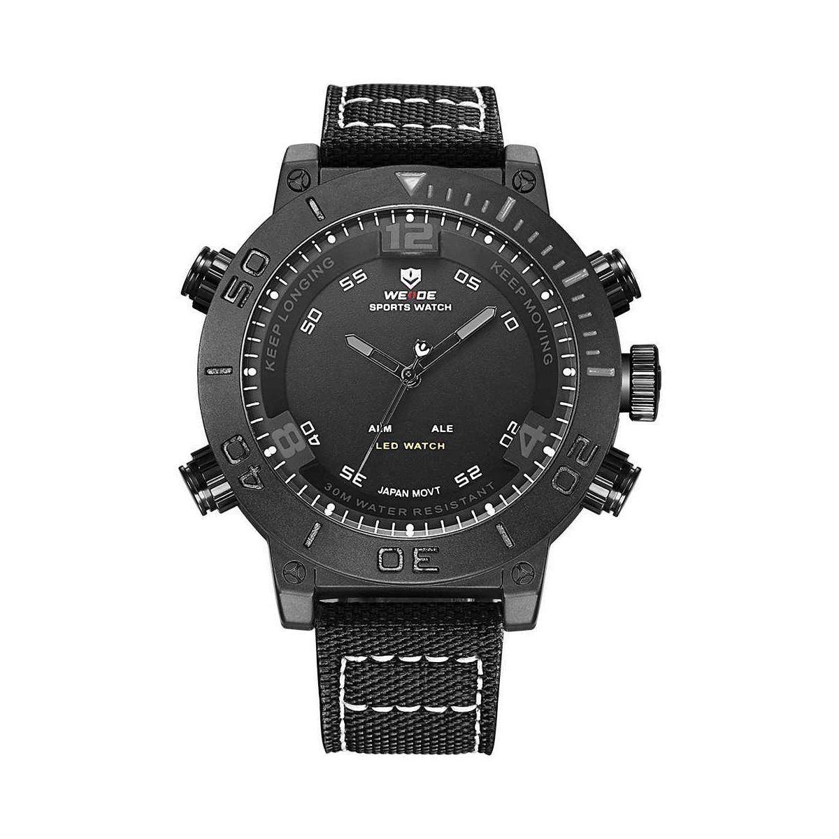 Часы Weide All Black WH6103B-1C (WH6103B-1C)