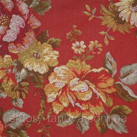 Декор юлиана цветы фон терракот