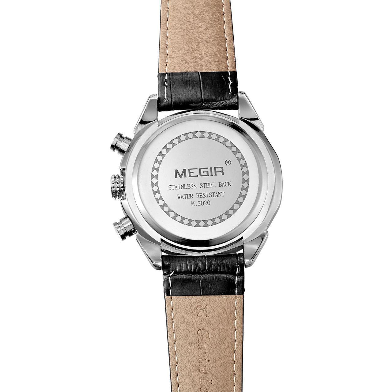 Часы Megir Black MG2020 (ML2020GBK-1)