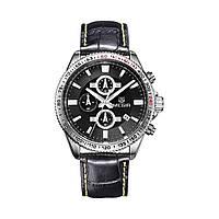 Часы Megir Silver Black MG3001 (ML3001GBK-1), фото 1