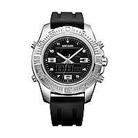 Часы Megir Silver Black MG2038 (MN2038GBK-1), фото 1