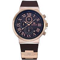 Часы Megir Gold Black Brown MG3007 (MN3007GREBN-1N0)