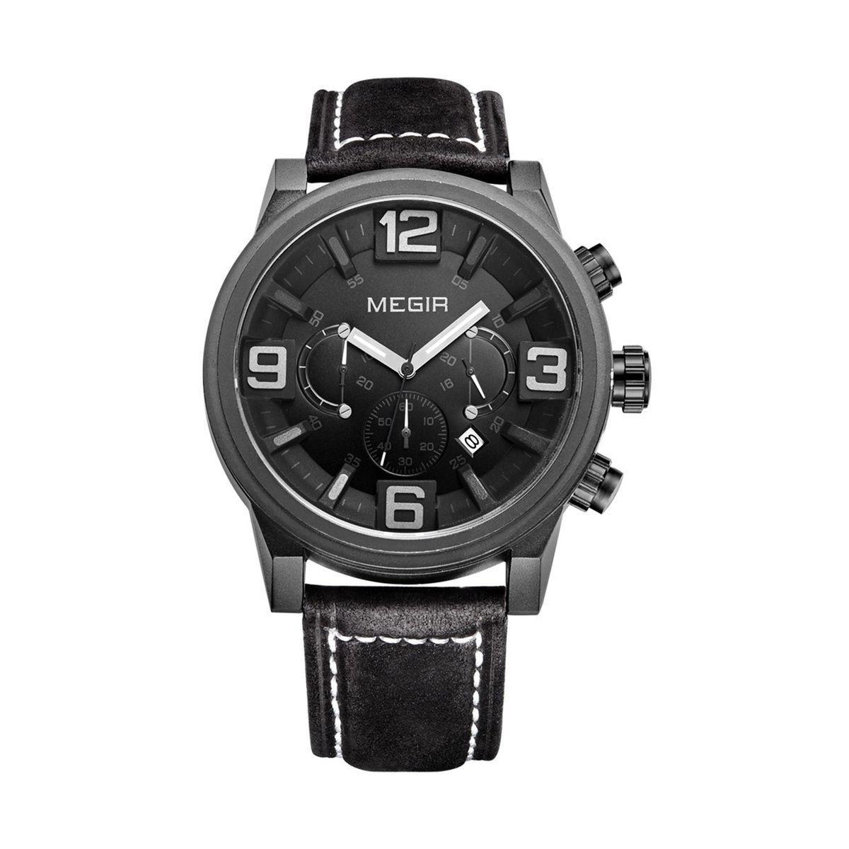Часы Megir Black MG3010 (ML3010G/BK-1)