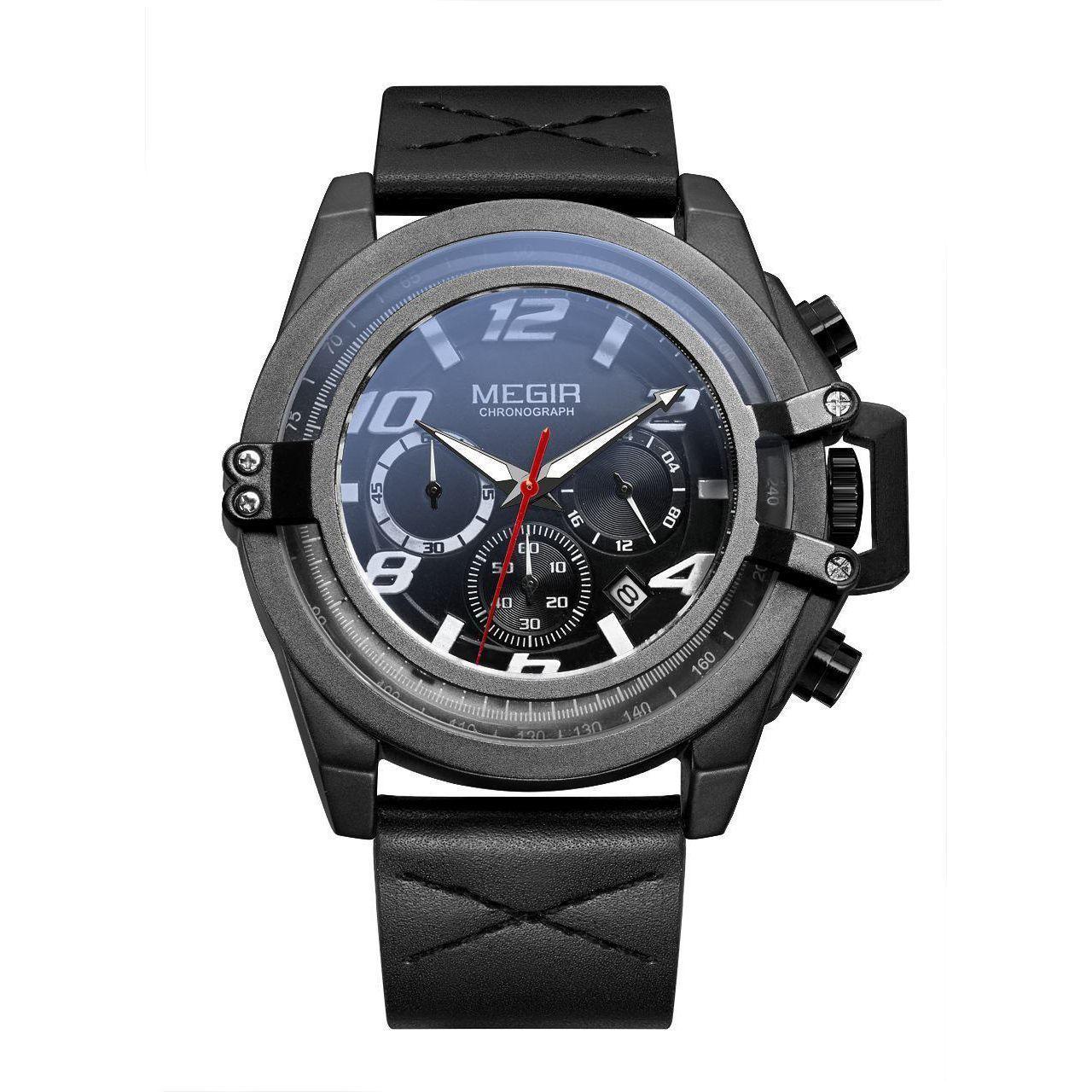 Часы Megir Black MG2052 (ML2052G-BK-1)