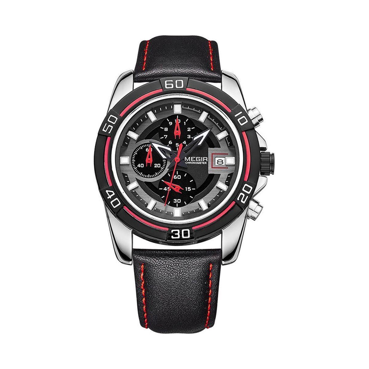 Часы Megir Black MG2023 (ML2023G/BK-1)