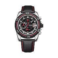 Часы Megir Black MG2023 (ML2023G/BK-1), фото 1