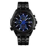 Часы Skmei 9107 Black Black Dail BOX (9107BOXBKBK), фото 1