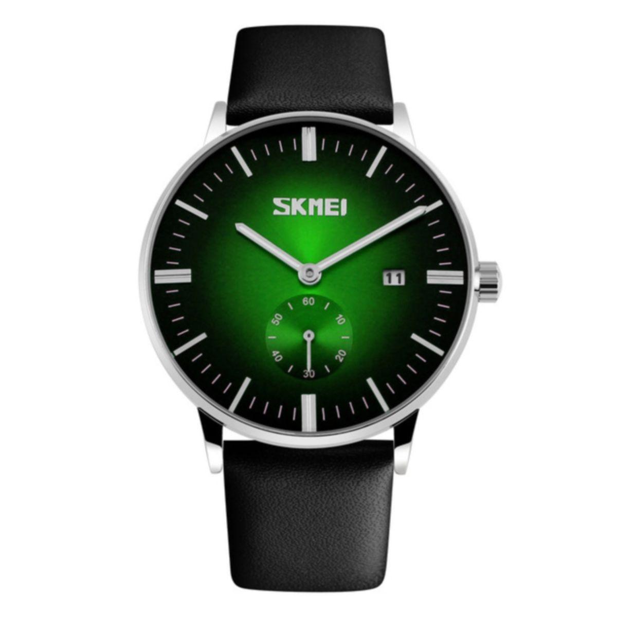 Часы Skmei 9083 BK- Green Dail BOX (9083BOXBKG)