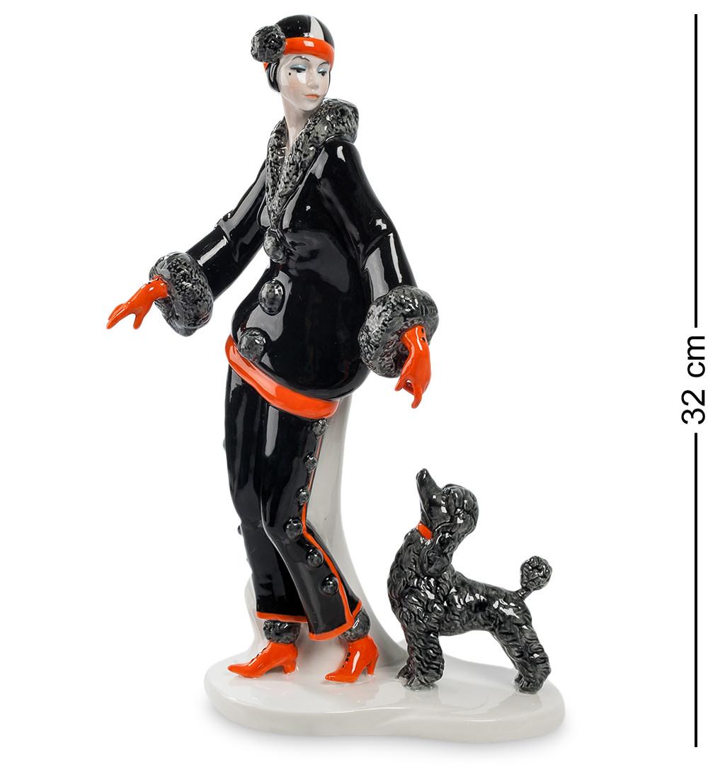 Фигурка Pavone Дама с собакой 32 см (103472)