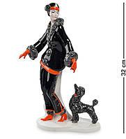 Фигурка Pavone Дама с собакой 32 см (103472), фото 1
