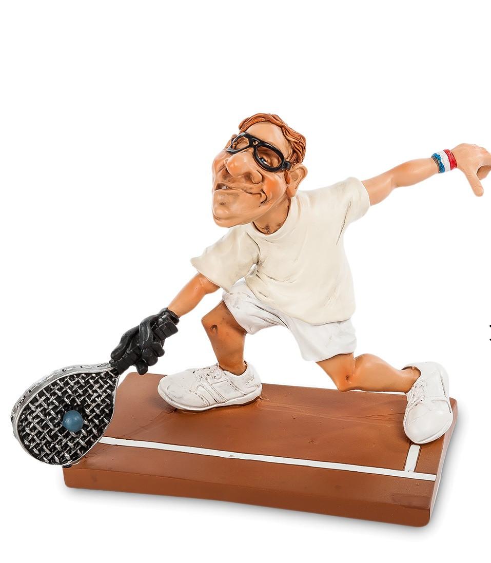 Фигурка The Comical World of Warren Stratford Большой теннис 15 см (903231)