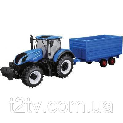 Спецтехника Bburago Трактор New Holland серии Farm 1:32 (18-44067)