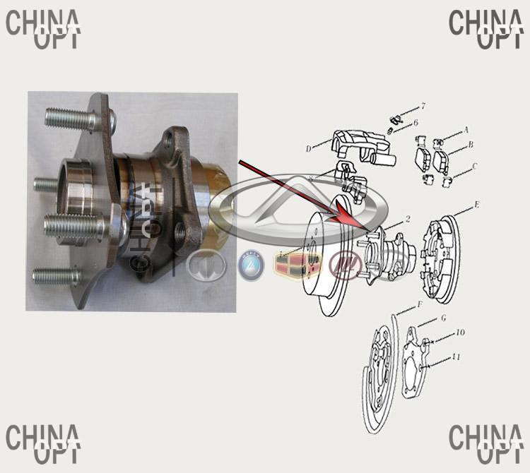 Радиатор охлаждения, 480EF, 477F, трубковый, Chery Amulet [1.6,до 2010г.], A15-1301110, Termal
