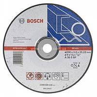 Отрезной круг,изогнутый, по металлу 230x22.23x3 Bosch