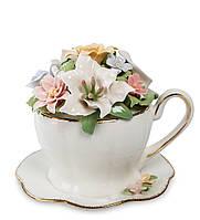 Музыкальная композиция Pavone Чашка с цветами 10.5 см (104210)