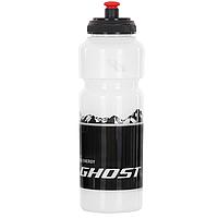 Фляга Ghost, 750 мл, прозрачно-черная (ST)