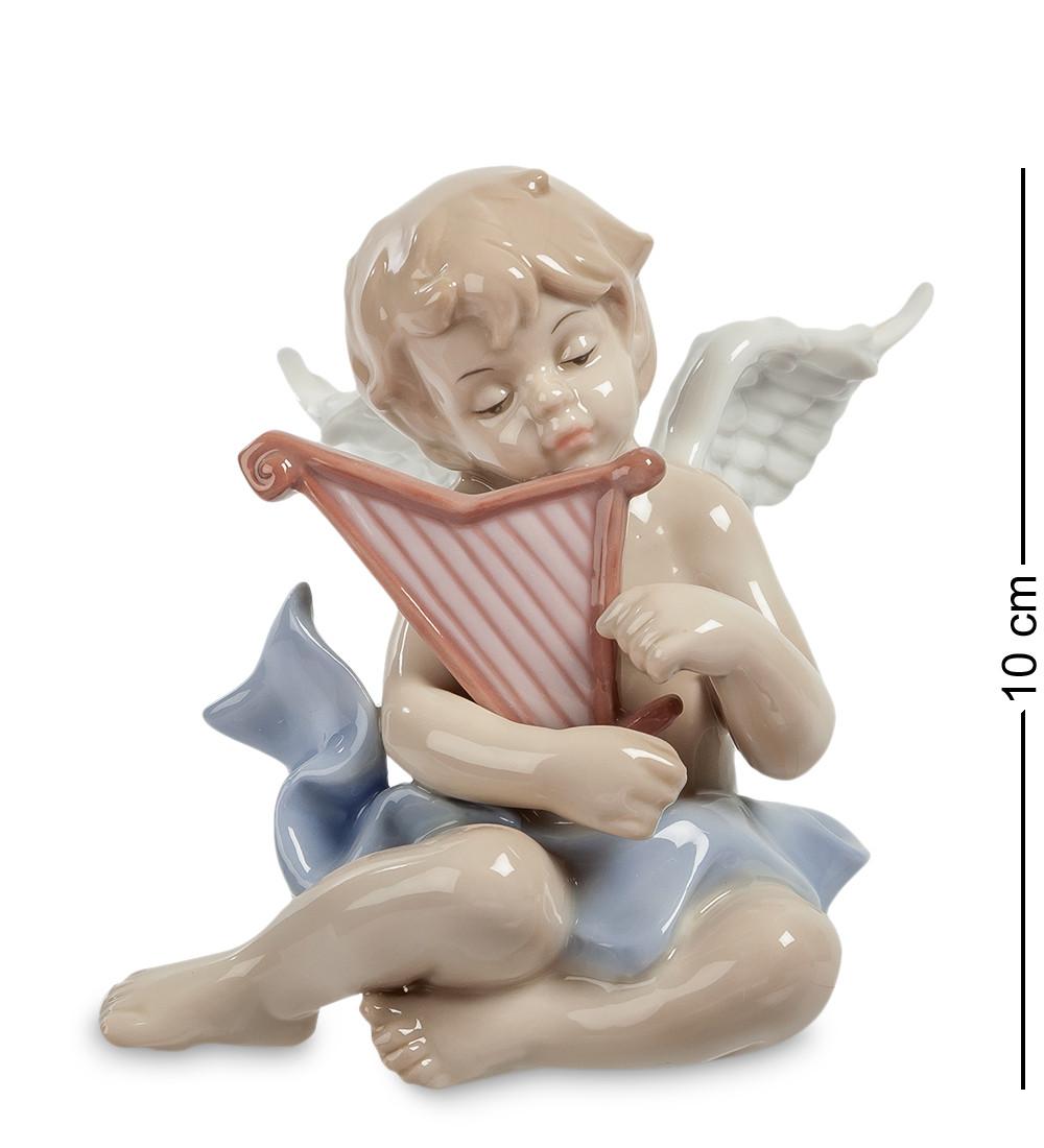 Фигурка Pavone Ангелочек-музыкант 10 см (104957)