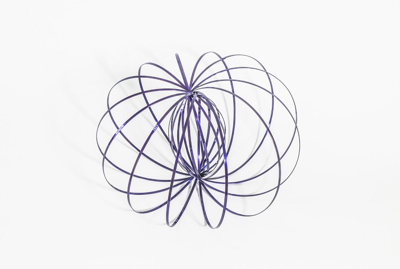 Кинетическая игрушка Magic Ring Toroflux Фиолетовый (QT-MR-1vl)