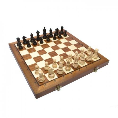 Шахматы Madon Олимпийские малые интарсия 35х35 см (c-122af)