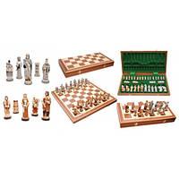 Шахматы Madon Англия интарсия 56х56 см (с-158)